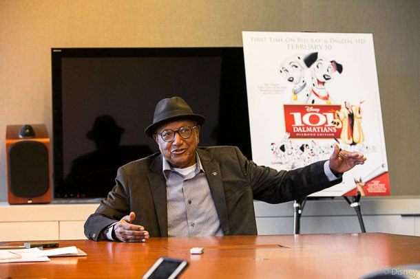 DISNEY LEGEND: Floyd Norman now