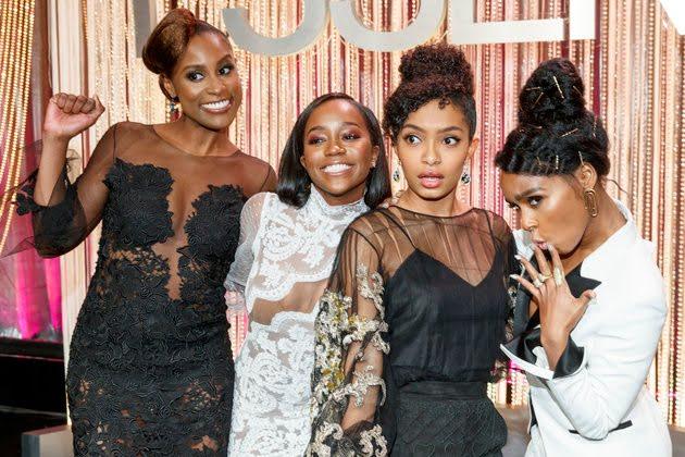 BLACK GIRL MAGIC: Issa Rae, Aja Naomi King, Yara Shahidi and Janelle Monáe