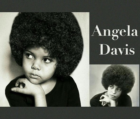 ICONIC: Lola Jones as civil rights activist, Angela Davis