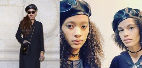 Rihanna channels the Black Panthers at Dior show and the models do the same on the catwalk