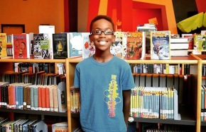 Sidney Keys, 11, started a book club for young black boys to improve literacy rates by showing them characters who looked likethem