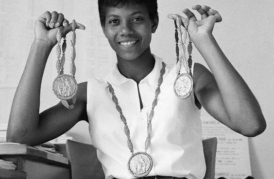 Wilma rudolph overcame polio to become the first american woman to wilma rudolph overcame polio to become the first american woman to win three gold medals in track and field during a single olympics games aged 20 voltagebd Choice Image