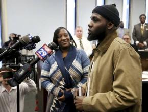 Ibn Ali Miller, the 26-year-old who broke up teen street brawl, is honoured in Atlantic City