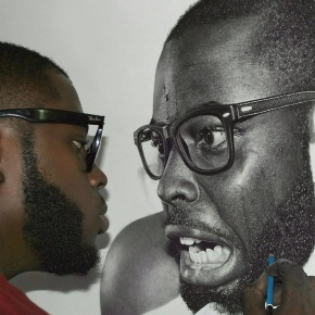 """The amazing hyper-realistic artist Arinze Stanley is on a mission to ensure artists are """"taken more seriously"""" inNigeria"""