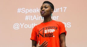 Meet the 22-year-old beauty queen born with HIV and using her platform to urge government to help end AIDS by 2030