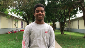 Khareem Oliver, an 18-year-old animal rescue volunteer, has created an app that reunites lost pets with theirowners