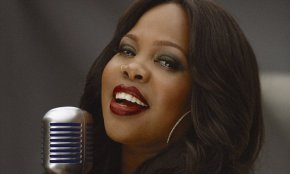 Actress Amber Riley wins Best Actress at the Olivier Awards for her role in West End's 'Dreamgirls'