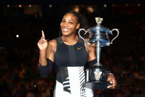 Serena Williams won her record 23rd Grand Slam tournament singles title at the Australian Open while pregnant with her first child