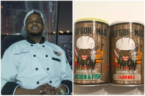This 23-year-old chef from New Orleans has created his own line of foodseasoning