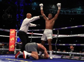 England's Anthony Joshua, 27, is the new heavyweight champion of the world after beating Wladimir Klitschko at Wembley