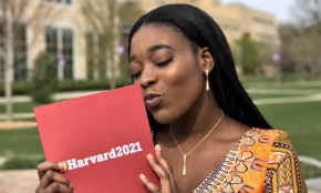 No one invited 17-year-old Priscilla Sammy to prom, so she took her Harvard acceptance letter instead