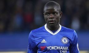 Chelsea midfielder N'Golo Kanté, 26, voted Footballer of Year by Football Writers' Association
