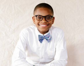 Entrepreneur who founded successful bow tie company, Mo's Bows, at just 12 signs lucrative licensing deal with theNBA