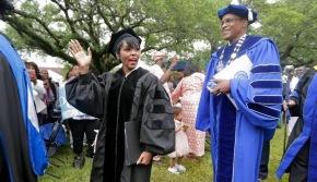 Janelle Monae receives honorary degree from Dillard University, tells graduates: 'Choose freedom overfear'