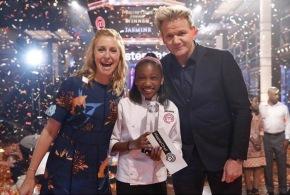 Jasmine Stewart, aged 12, wins MasterChef Jr. trophy and $100,000 grandprize