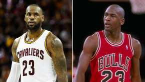LeBron James passes Michael Jordan as all-time NBA playoffs scorer