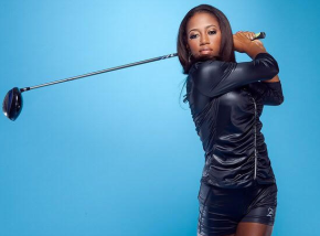 """Zakiya """"Z"""" Randall is the youngest and first female African-American in history to win first place in the LPGA U.S. Women's Open"""