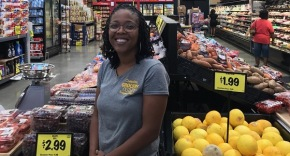 Kia Patterson makes history by opening the first black-owned grocery store in Compton selling organic food at affordable prices