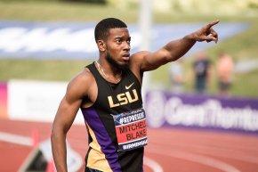 Sprinter Nethaneel Mitchell-Blake breaks 30-year British record at the British Athletics TeamTrials