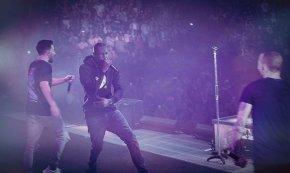 Stormzy joins Linkin Park on stage inLondon