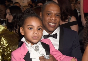 Blue Ivy, 5, shows off freestyling skills on dad Jay-Z's newalbum
