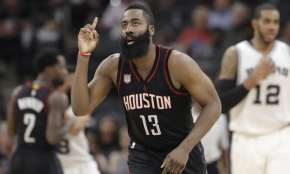 James Harden agrees to NBA-record $228m contract extension with the Houston Rockets