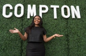 Aja Brown, Compton's youngest mayor, sworn in for a second term