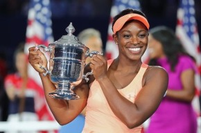 Sloane Stephens, 24, wins first US Open title after defeating fellow American and friend Madison Keys, 22